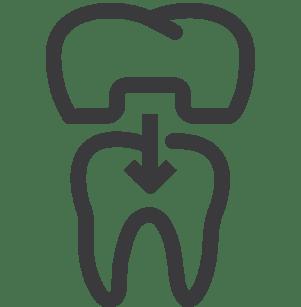 dental crown logo image