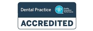 accredited dental practice logo image